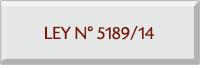 Ley N° 5189/24